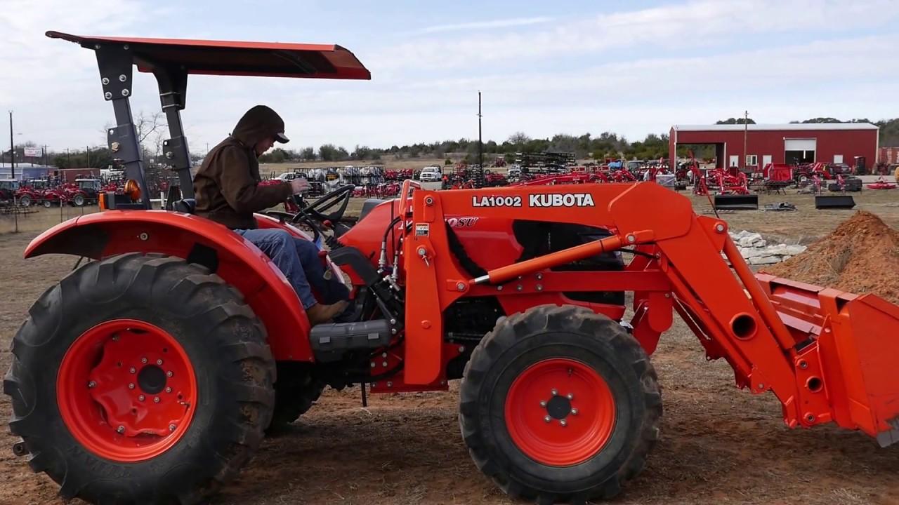 Large Kubota Tractors : Demo of used kubota su tractor for sale at big red s