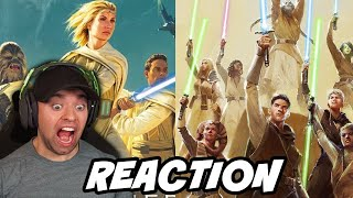 Reacting to High Republic NEW TRAILER