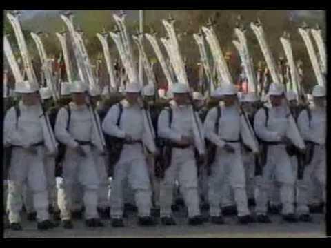 Gran Parada Militar 1992 (16) Ejercito de Chile