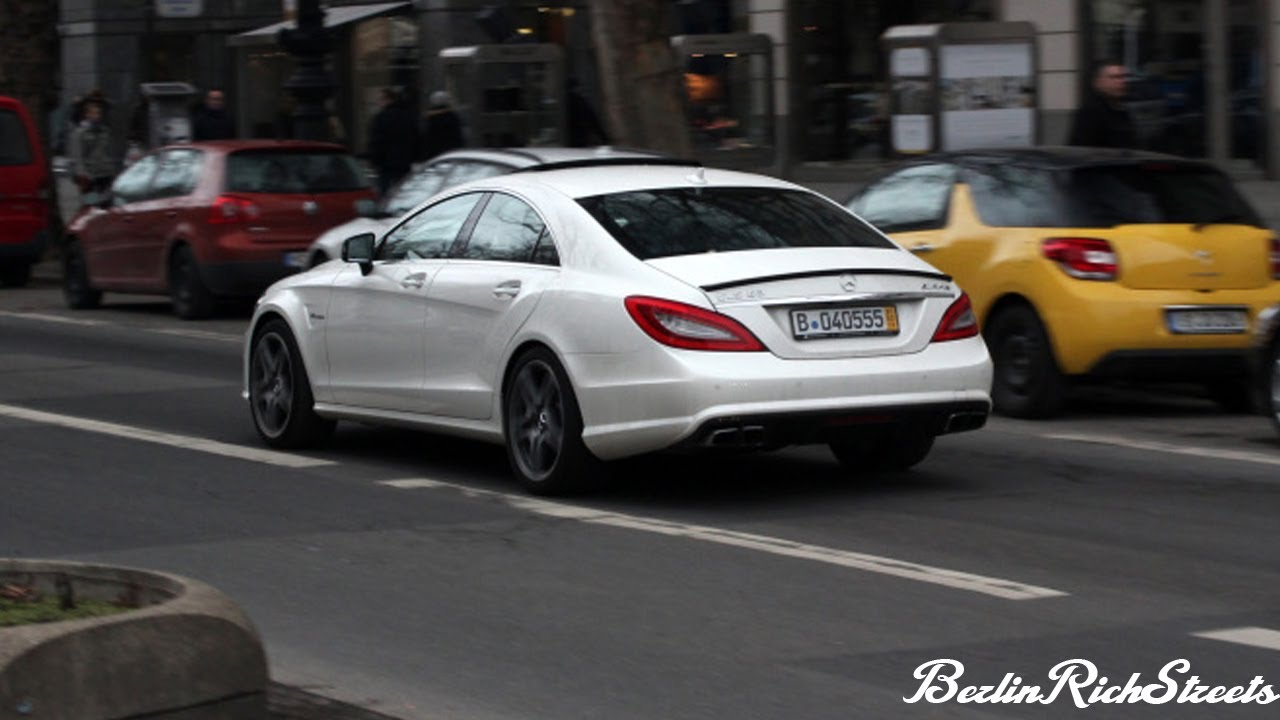 MERCEDES CLS63 AMG - TRUE GERMAN MUSCLE CAR - YouTube