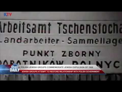 Polish Jewish Groups Commemorate Jewish Expulsion of 1968