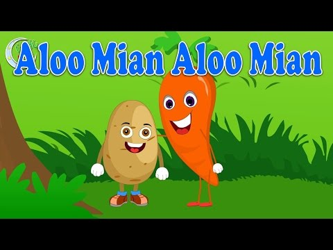 Aloo Mian Aloo Mian | آلو میاں آلو میاں | Urdu Nursery Rhyme