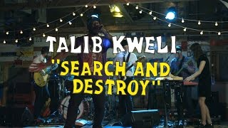 Talib Kweli ft. ON AN ON - Search and Destroy (Welcome Campers)