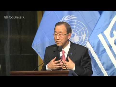 World Leaders Forum: Ban Ki-moon, Secretary-General of the United Nations