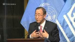 World Leaders Forum: Ban Ki-moon, Secretary-General of the United Nations