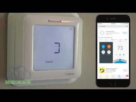Honeywell T6 Pro Lyric App Setup