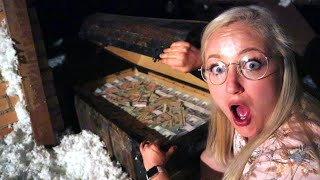 WE FOUND FINAL REAL TREASURE CHEST IN ATTIC! EPIC TREASURE HUNT FINALE! The Beach House