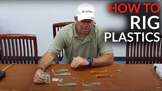 Accurate Fishing Products - How to rig a swim bait.