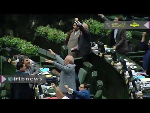 شاهد: نواب إيرانيون يهتفون -الموت لأمريكا- في البرلمان  - نشر قبل 2 ساعة
