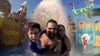 Um dia em família no Beach Park