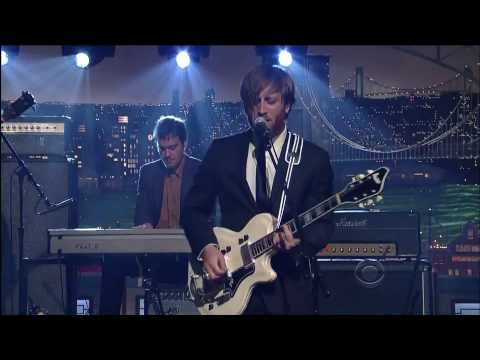 The Black Keys [HD] - The Late Show with David Letterman
