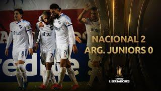 Nacional vs. Argentinos Juniors [2-0]   RESUMEN   Fecha 6   CONMEBOL Libertadores 2021