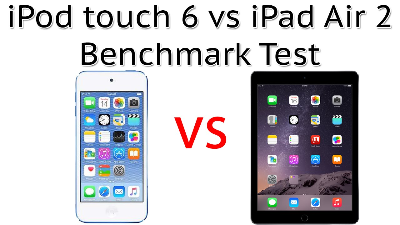 ipod touch 6 vs ipad air 2 benchmark test youtube. Black Bedroom Furniture Sets. Home Design Ideas