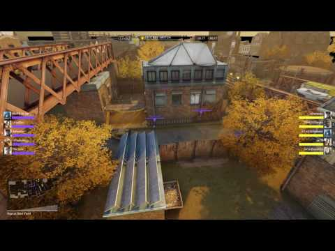 Dirty Bomb - High Levels; TrainYard; Friendly Fire On; Spectate