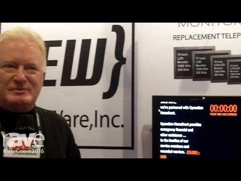 InfoComm 2016: Pic Flip Monitors Offers Teleprompting Solutions