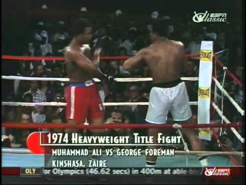 Muhammad Ali v George Foreman 74