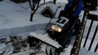 tracteur yardwork 25 hp   tondeuse 50   soufleusse 42 vs 51 cm neige