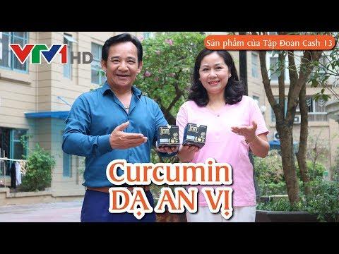 Hỗ trợ điều trị bệnh dạ dày Curcumin Dạ An Vị