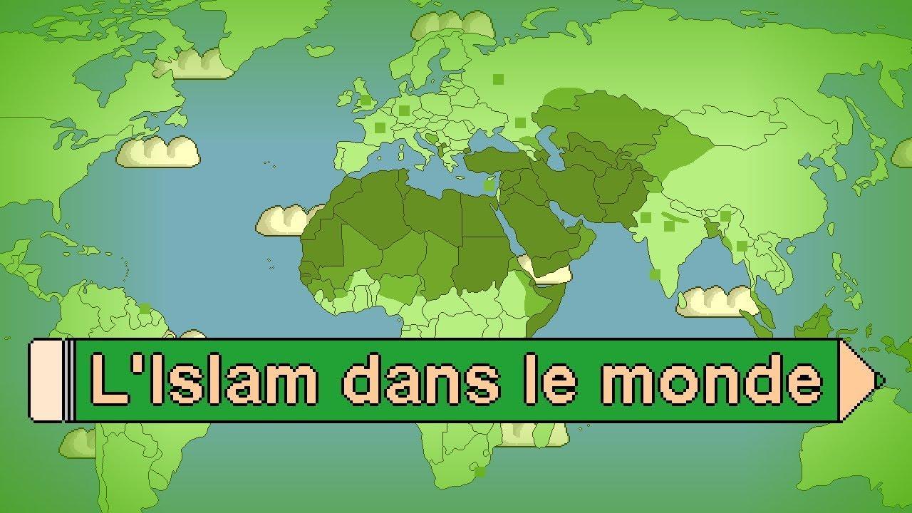 L Islam Dans Le Monde Les Pays Qui Comptent Le Plus De Musulmans Youtube