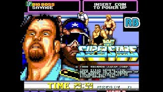 1989 [60fps] WWF Superstars Boss Man & Savage ALL