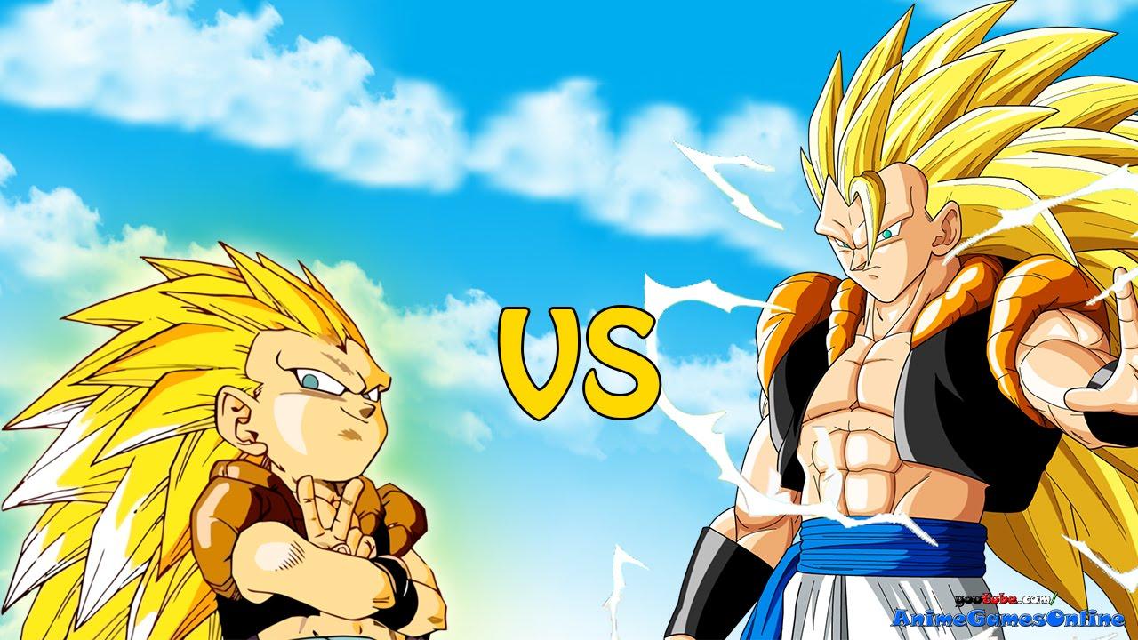 Super saiyan 3 gogeta vs super saiyan 3 gotenks dragon - Sangoten super sayen 3 ...