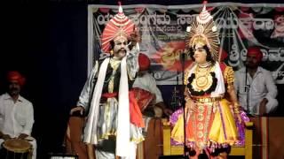 Yakshagana 2016-Haasya-Sri Ramesh Bhandari in Krishnarjuna as Daaruka @Sagar