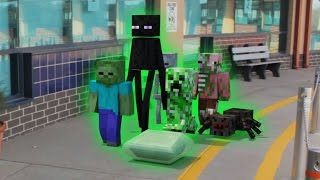 Monster School in Real Life: First Day - Minecraft Animation