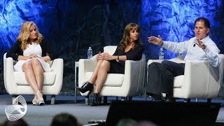 Michael and Susan Dell at DWEN 2014