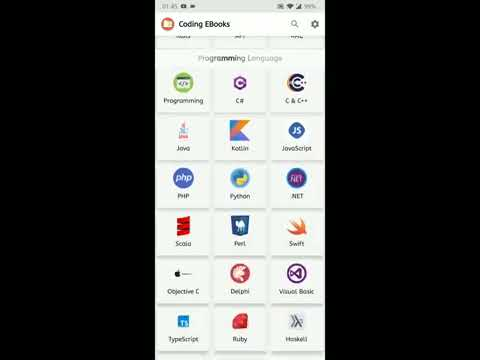 Coding Ebooks Android App