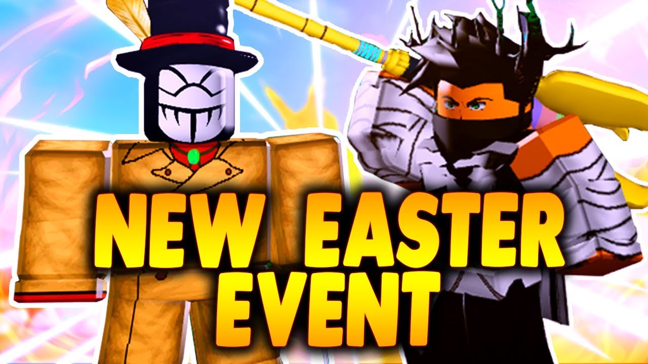 How To Get New Easter Event Staff New Easter Event Boss In - boku no roblox remastered gameplay