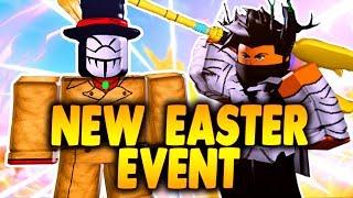 COMO OBTENER EL NUEVO PERSONAL DE EVENTOS DE EASTER Nuevo jefe de eventos de Pascua en Boku No Roblox remasterizado iBeMaine