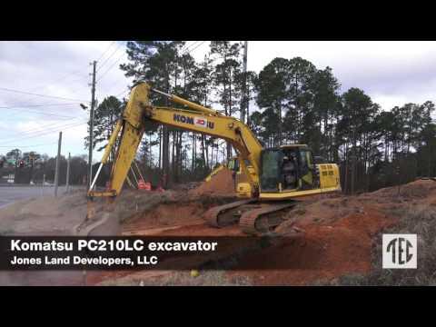 Tractor & Equipment Co - Jones Land Developers, LLC - Komatsu PC210LC Excavator