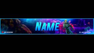 ▼Free downoload Fortnite banner▼
