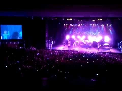 Evanescence  Bring Me To Life Chevrolet Hall Recife 11 10 2012