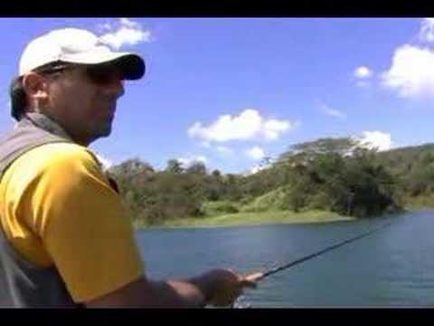 Fishing In Lake Arenal