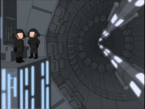 Family Guy Blue Harvest No Railing Death Star Technicians Star Wars