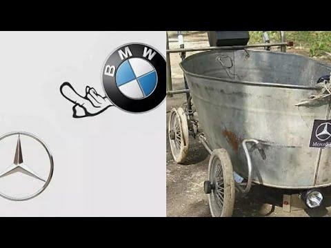 Mercedes Benz Vs BMW Prikol