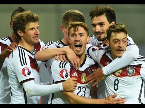 Full Germany vs Georgia 2 1 EC Qualification