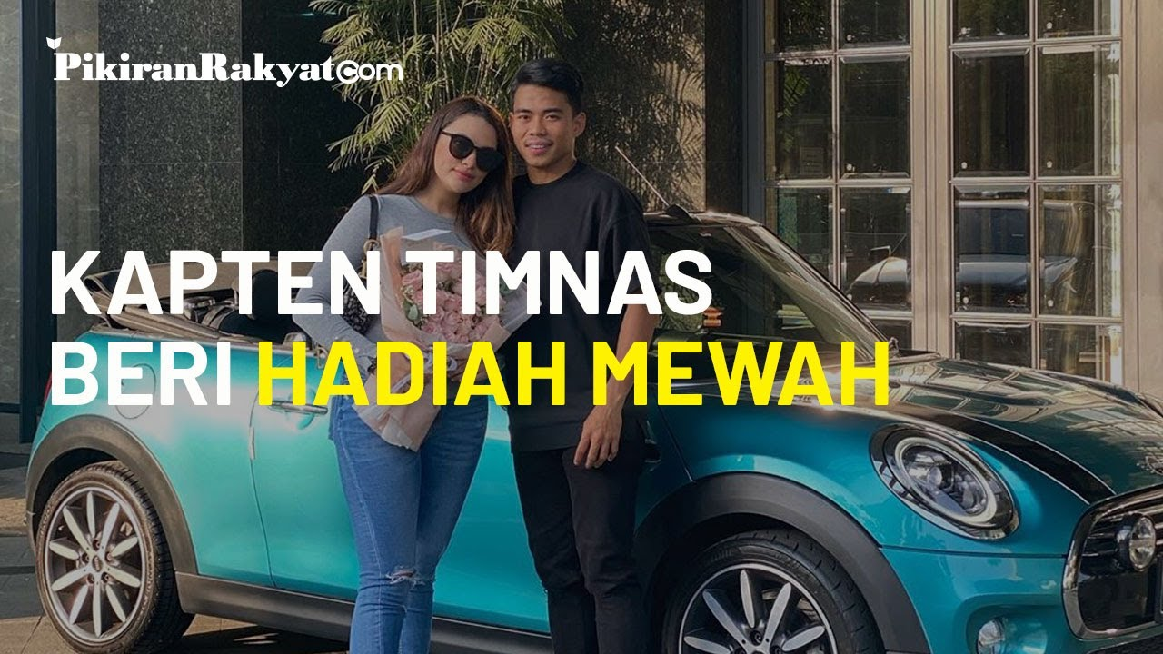 Bikin Heboh, Kapten Timnas Indonesia Beri Hadiah Mobil Mewah untuk Pacar di Anniversary 6 Bulan