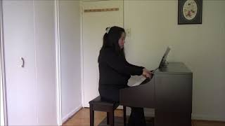 Book 2 - Prelude and Fugue in F sharp major - Annie Li (ISP)