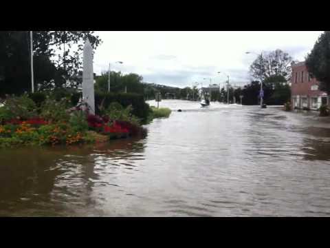 Denville NJ flooding from Irene #2