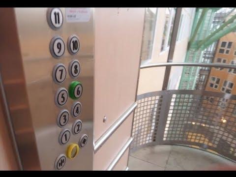 Sweden, Stockholm, Söderhallarna, 2X KONE elevator