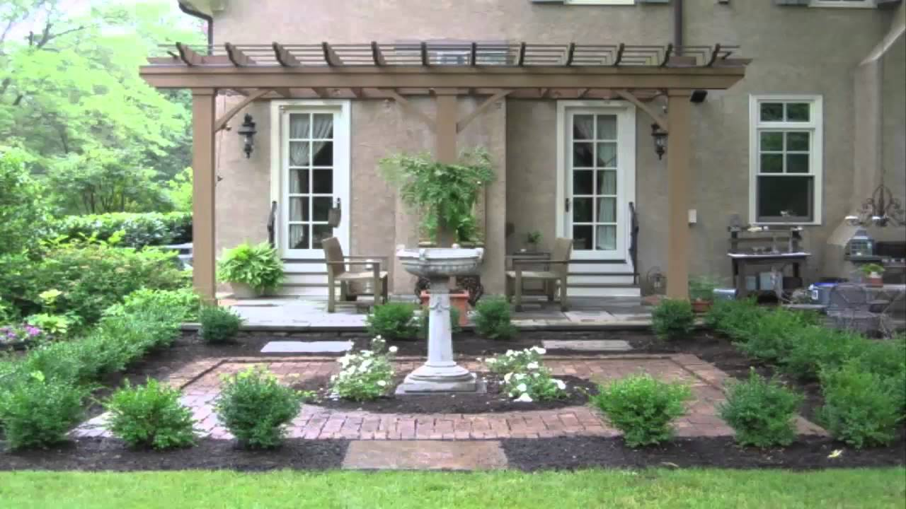 Landscaping ideas english garden landscape ideas youtube for English garden designs