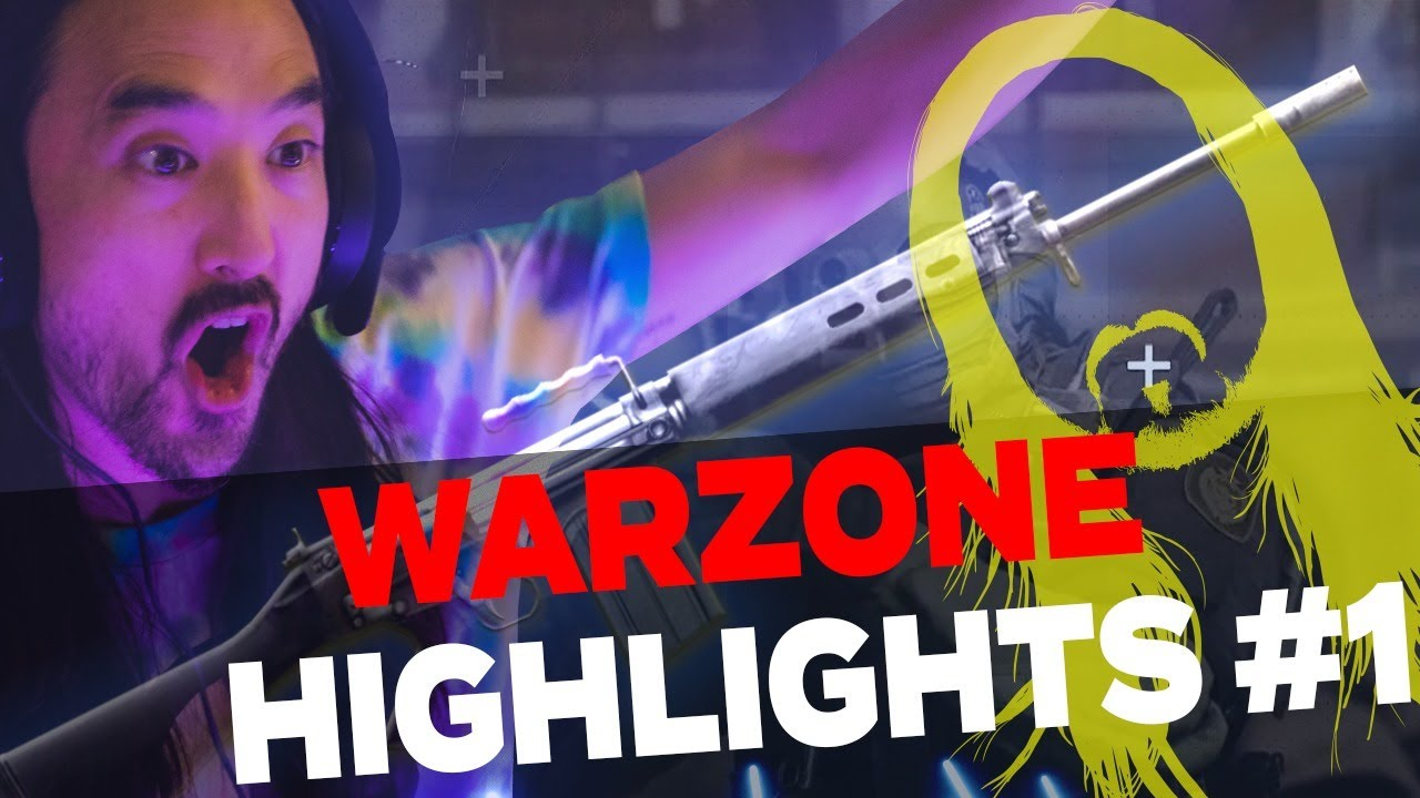 Steve Aoki WARZONE Highlights #1- Call of Duty