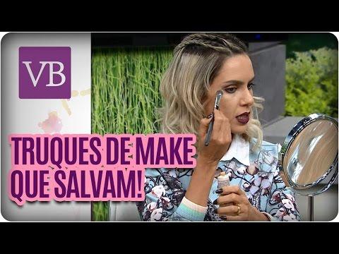 Manual da blogueira: Truques rápidos de make - Você Bonita (28/04/16)