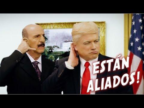 DONALD TRUMP  Y CARLOS SALINAS VS PREMIOS DE LA RADIO