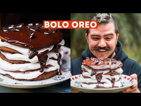 BOLO OREO FÁCIL DE FRIGIDEIRA EM 20 MINUTOS