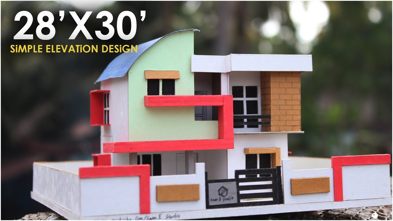 model making of modern architectural building 8 youtube