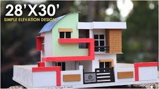 MODERN SMALL RESIDENTIAL BUILDING | MODEL MAKING thumbnail