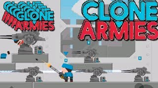 Меняем базу! Clone Armies! Армия клонов! играем 1 на 1! \ клон клеш рояль!